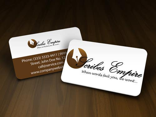 #15 for Logo Design for A writing Firm by rogeriolmarcos