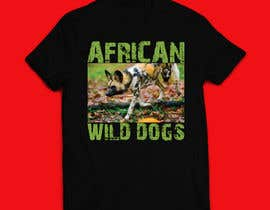 #70 для Graphic Design for Endangered Species - African Wild Dogs от mdminhajuddin