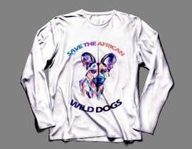 #80 для Graphic Design for Endangered Species - African Wild Dogs от omarbarakat659