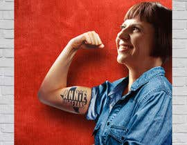 "giobanfi68 tarafından ""Rosie the Riveter""-Inspired Campaign Poster için no 55"