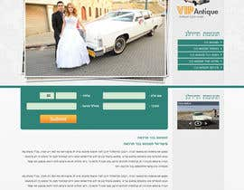 #2 for Website Design for 1 page (Antique Cars rental) af nhany