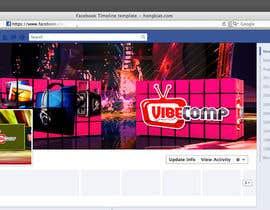 akram1293 tarafından Design a Wallpaper for VibeComp Facebook page için no 8