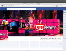 akram1293 tarafından Design a Wallpaper for VibeComp Facebook page için no 13