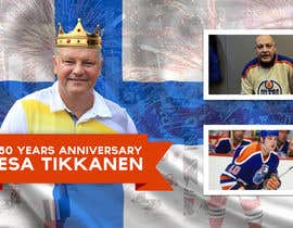 #15 untuk Suunnittele esite for NHL star Esa Tikkanen oleh skanone