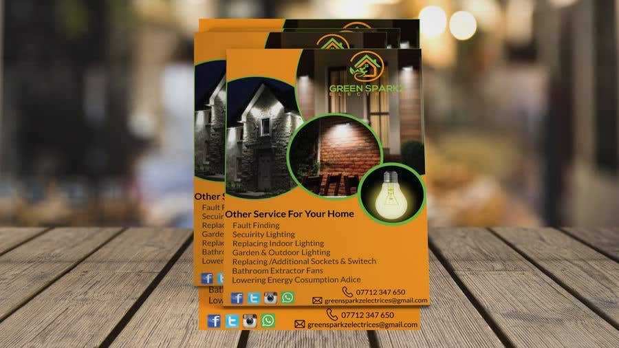 Contest Entry #33 for domestic electrical business marketing flyer  - 22/11/2019 07:39 EST