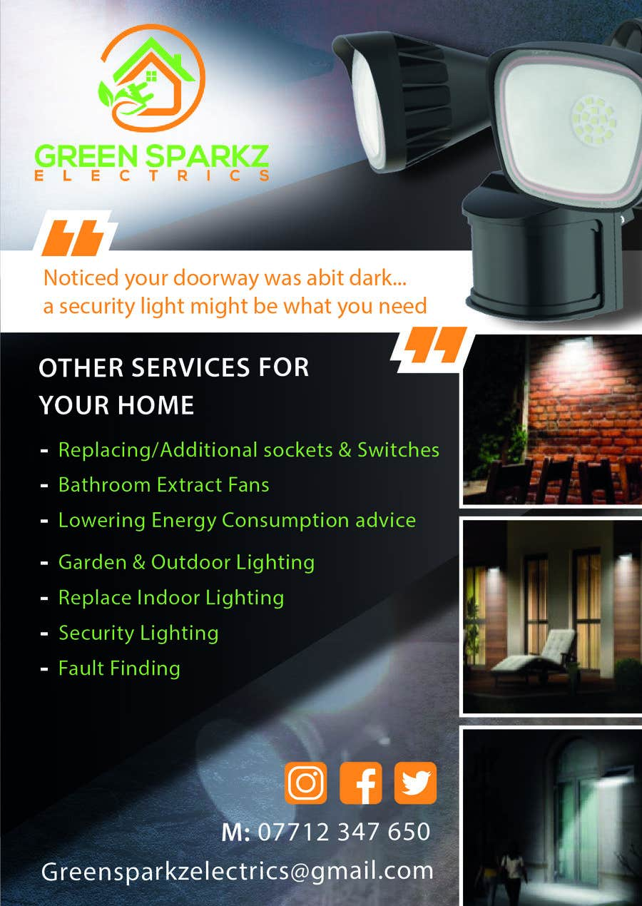 Contest Entry #6 for domestic electrical business marketing flyer  - 22/11/2019 07:39 EST