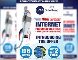 #55 cho flyer Design for Sree Broadband - Internet Service Provider bởi moslehu13