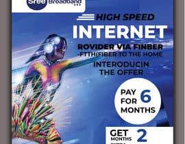 #57 cho flyer Design for Sree Broadband - Internet Service Provider bởi kutub96