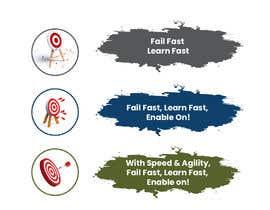 #16 pentru 3 Simple editable Graphic in Powerpoint - Fail Fast; Learn Fast de către DesignerAasi