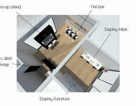 #3 para Interior Design of a retail Space por cecioconor