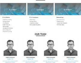 #67 pentru Website Design - Technical Support Services de către JTuhin017