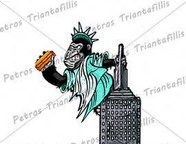 #16 для Vector: King Kong on Empire State Building with additional details от ptriantafillis