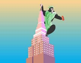 #10 для Vector: King Kong on Empire State Building with additional details от hung2161998