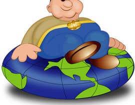 nº 15 pour 2D Fatty Boy. Modernize Character for Logo. 3D Required in Second Phase par qshahnawaz