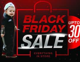 #204 for banner for Black Friday sale af Ganeshgs99