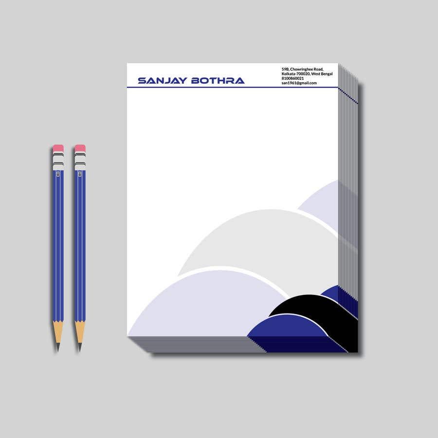 Konkurrenceindlæg #59 for Letterhead design