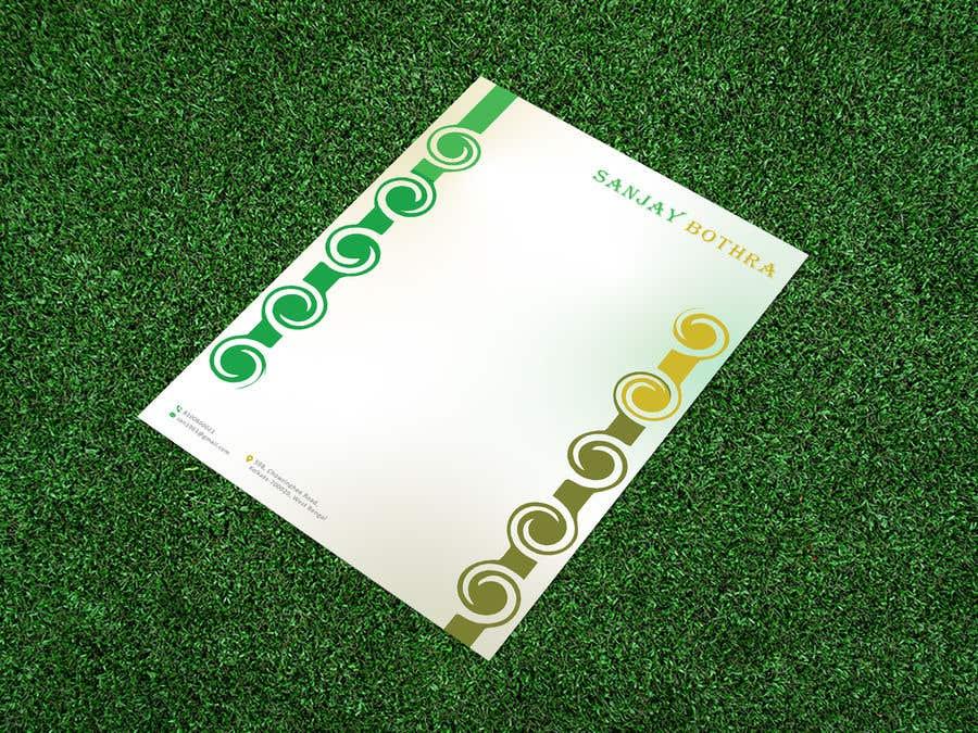 Konkurrenceindlæg #                                        151                                      for                                         Letterhead design