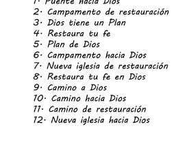 #49 para Name for a Church - Nombre para una iglesia de cabralpameladg