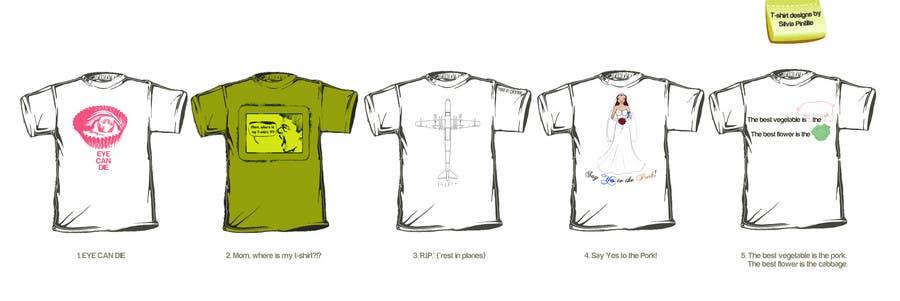 Design 4 funny t-shirts for streetshirts.com için 11 numaralı Yarışma Girdisi