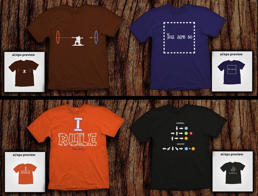 Konkurrenceindlæg #50 for Design 4 funny t-shirts for streetshirts.com