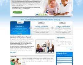 #12 dla Website Design for Educa Tutors przez designerartist