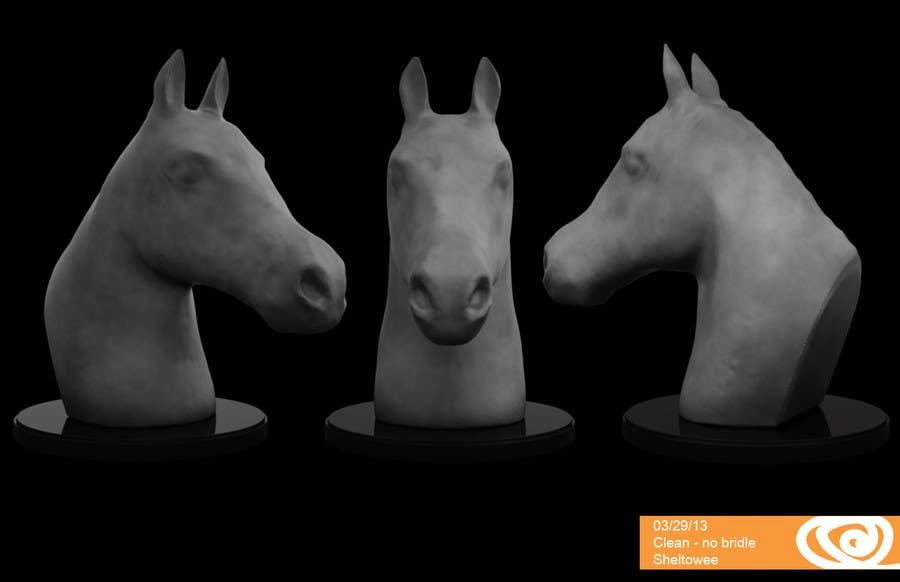 Konkurrenceindlæg #                                        29                                      for                                         Graphic Design for a unique Horse Statue.