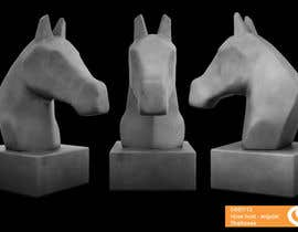 #43 untuk Graphic Design for a unique Horse Statue. oleh cocovisual