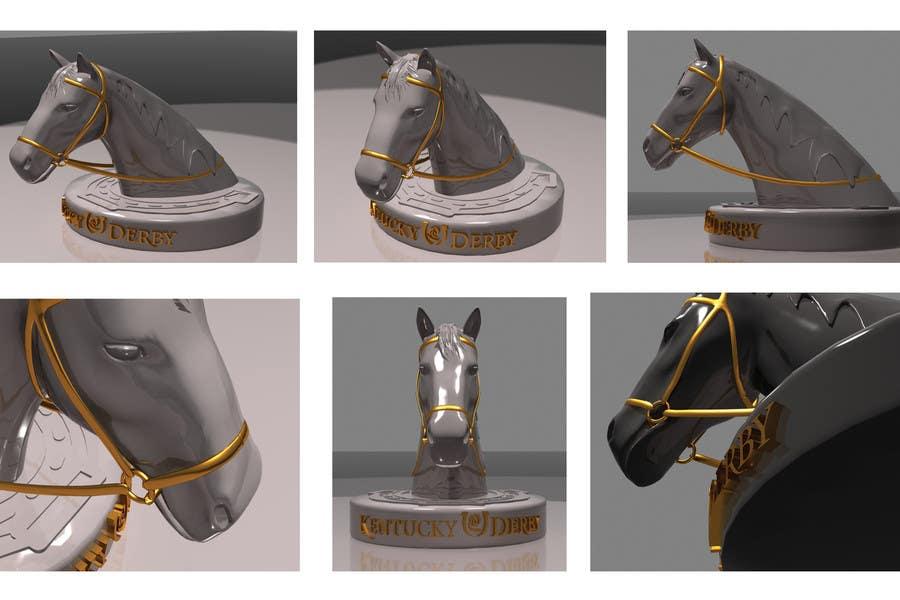 Konkurrenceindlæg #                                        32                                      for                                         Graphic Design for a unique Horse Statue.