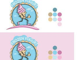 #23 for Frozen Yogurt Logo Design af razvansichim