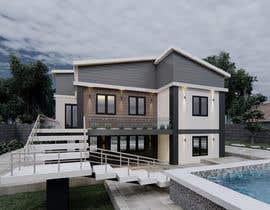 Nro 44 kilpailuun Makeover - House / Facade with Swimming Pool & Garden käyttäjältä maiiali52