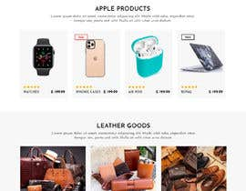 #304 untuk Re-Design of existing Shopify site and the new Logo oleh WebCraft111