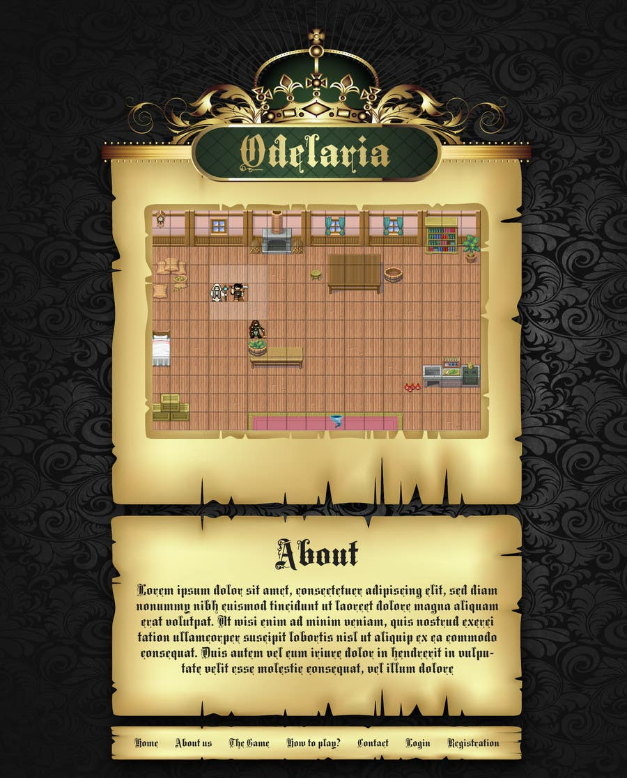 Entry #4 by zolcsaktamas for Design my Browser-based MMORPG