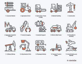 #13 for Need 16 Vector Icons for Construction/Equipment categories af cisviolin