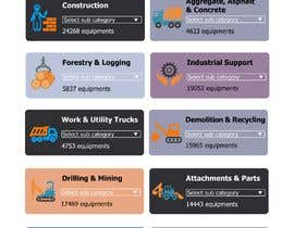 #9 for Need 16 Vector Icons for Construction/Equipment categories af faizsehol