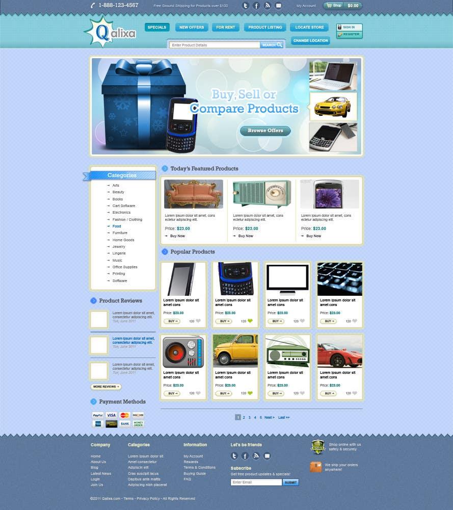 Participación en el concurso Nro.                                        11                                      para                                         Website Design review