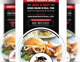 #29 for Create a DropIn 5x7 flyer for a restaurant. by moslehu13