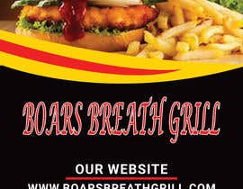 #38 for Create a DropIn 5x7 flyer for a restaurant. by begumema2019