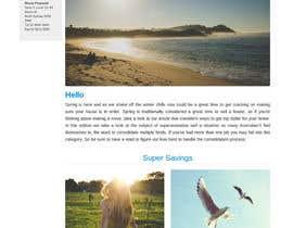 #4 para Design a Newsletter using HTML por jgw9617