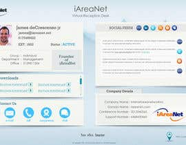 #19 for Web Reception Desk/Card Design for iAreaNet af patrick12691