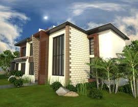 #36 untuk Design a contemporary facade for a new house oleh IREKAB34