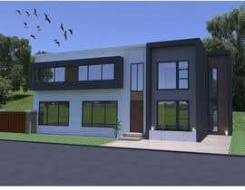 #11 untuk Design a contemporary facade for a new house oleh RosaEjeZ