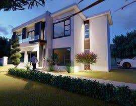 #19 untuk Design a contemporary facade for a new house oleh tanitarchitect