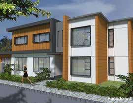 #47 untuk Design a contemporary facade for a new house oleh weelin1986