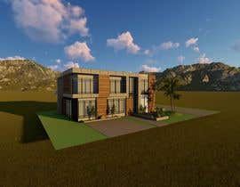 #41 untuk Design a contemporary facade for a new house oleh kathe0512