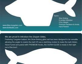 #6 untuk Need Fishing Retail Insert Card Designed oleh shar1990