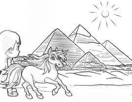 #33 for Colouring eBook Illustration for Kids (Girl & Her Unicorn) by boyetplatio
