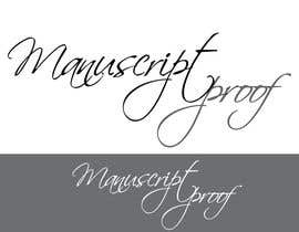 #75 para Logo Design for Manuscript Proof por inspirativ