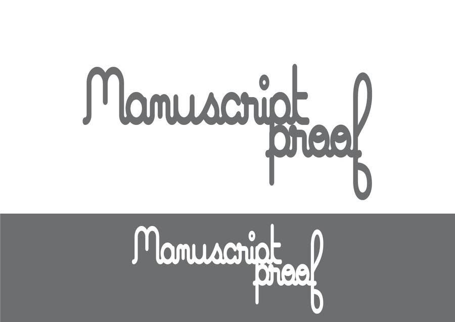 Bài tham dự cuộc thi #                                        78                                      cho                                         Logo Design for Manuscript Proof