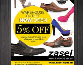 #15 for Flyer Design for the opening of a shoe warehouse outlet af mishyroach