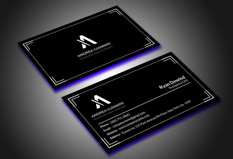 Contest Entry #131 for Andreality business cards